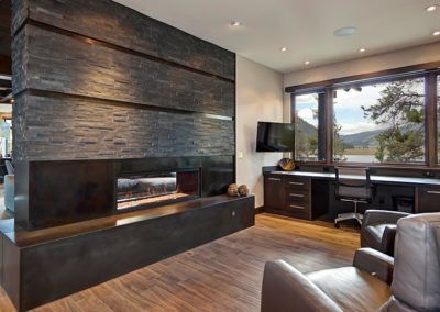 Custom Home Office - Lake View